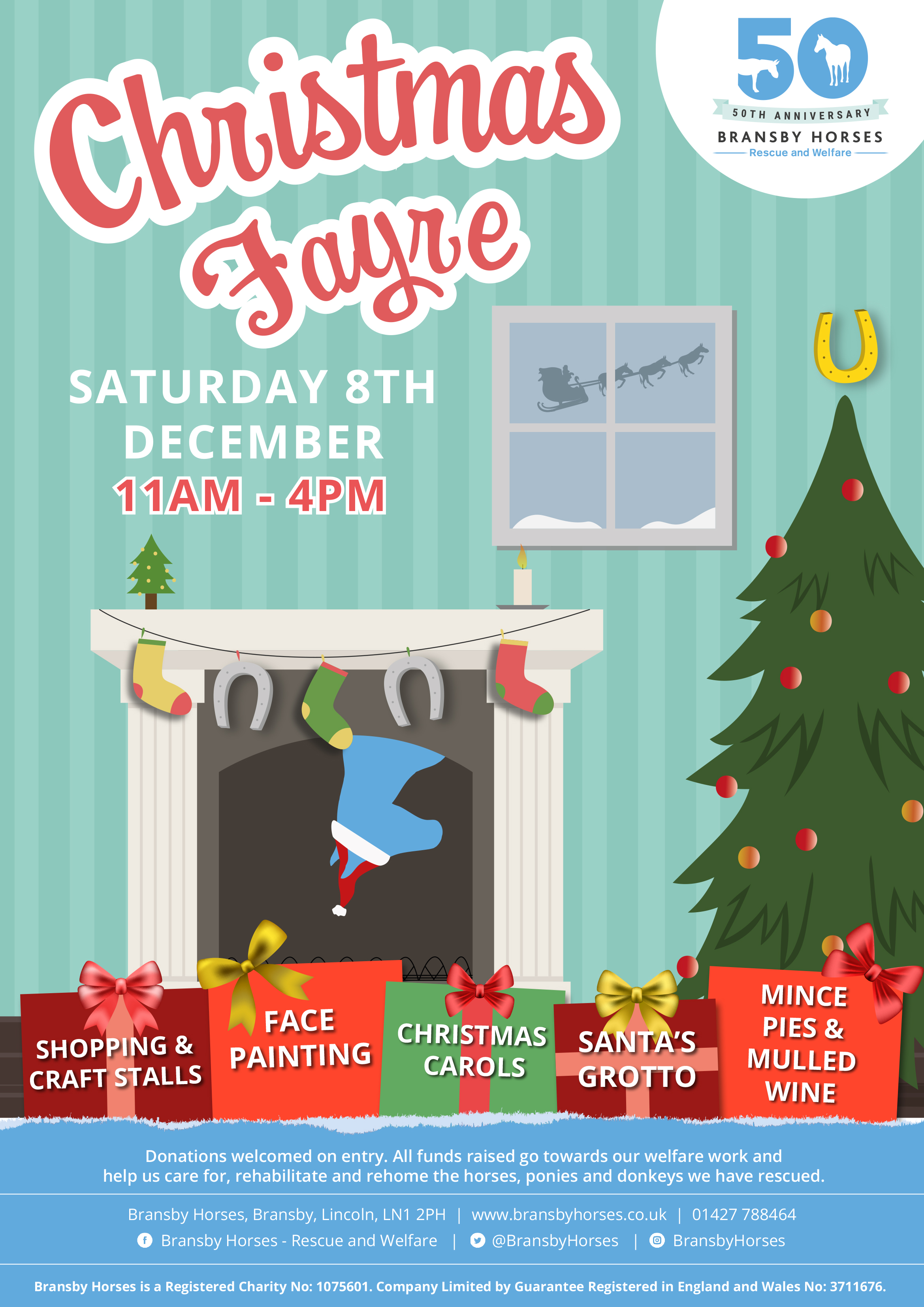 Christmas Fayre @ Bransby Horses  | Bransby | England | United Kingdom