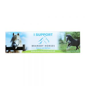 BRANSBY HORSES CAR STICKER2