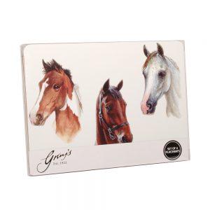 HORSE PORTRAITS PLACEMATS