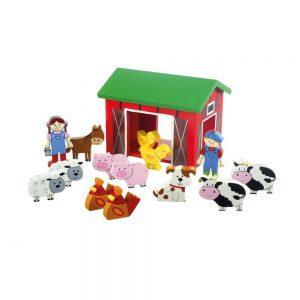 Farmyard Wooden Play Set