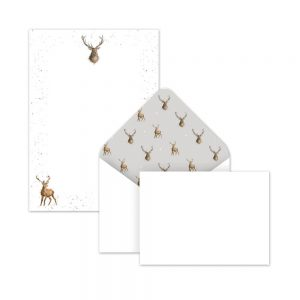 Wrendale Stag Writing Paper & Envelopes