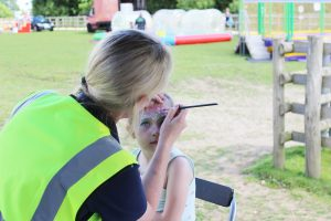 Glitter Tattoos and Face Painting @ Bransby Horses   Bransby   England   United Kingdom