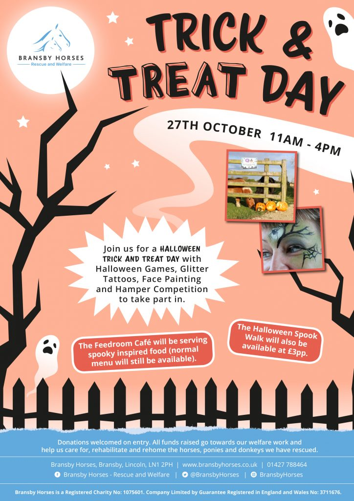 Halloween Trick and Treat Day @ Bransby Horses