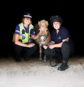 Veronica with Donna and PCSO Lingard